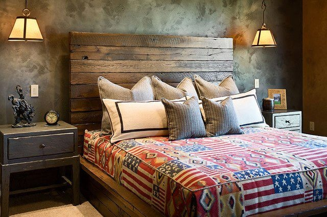 Rustic headboard master bedroom pinterest rustic for Bedroom headboard ideas