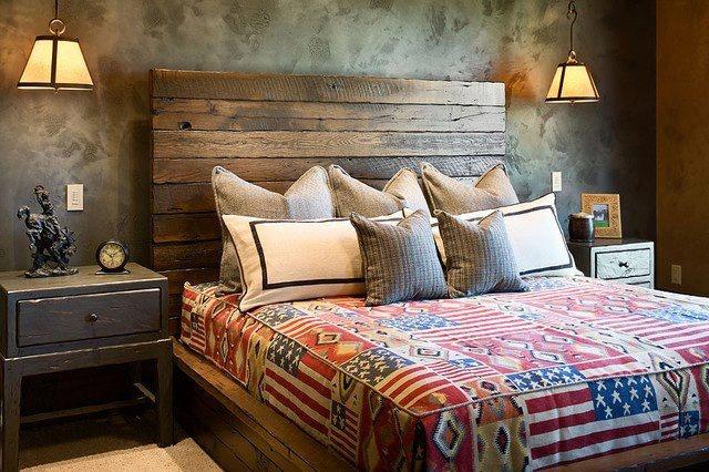Rustic headboard master bedroom pinterest rustic for Bedroom headboard ideas