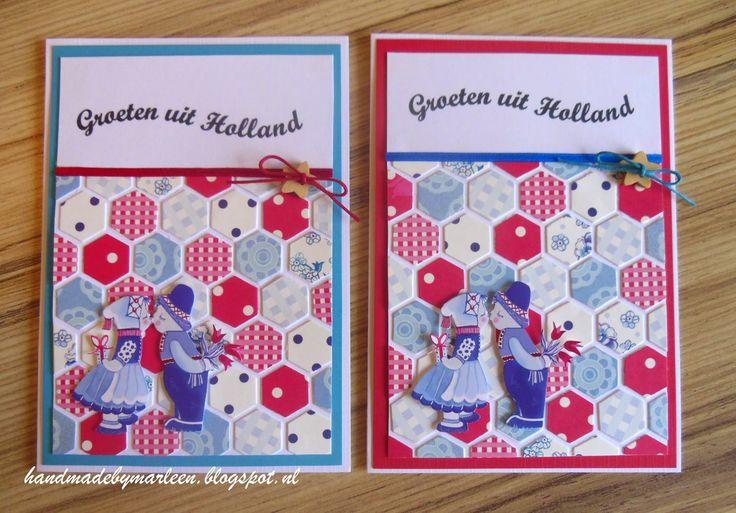 Handmade by Marleen: Groeten uit Holland