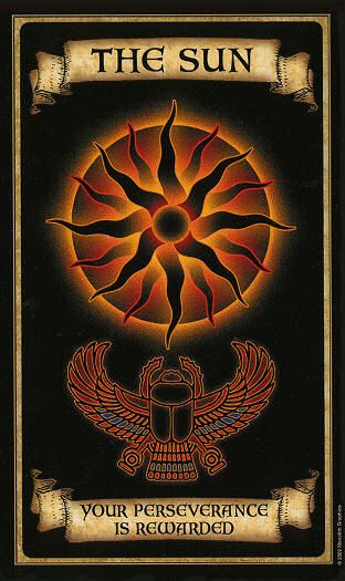 Oraculo Madame Endora: El Sol - La magia del Tarot
