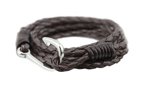 The Winston Chocolate Leather Bracelet