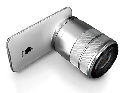 It's a Phone...It's a camera...Iphone  pro concept
