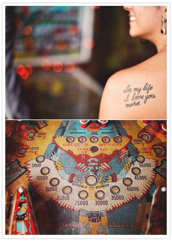 lets get tats!?!?  art-deco-texas-wedding-6