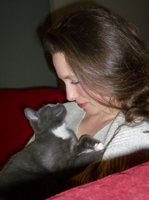 Me and our sweet cat Lucky, RIP beautiful girl <3 http://lucky.iamhereforeverpets.com/