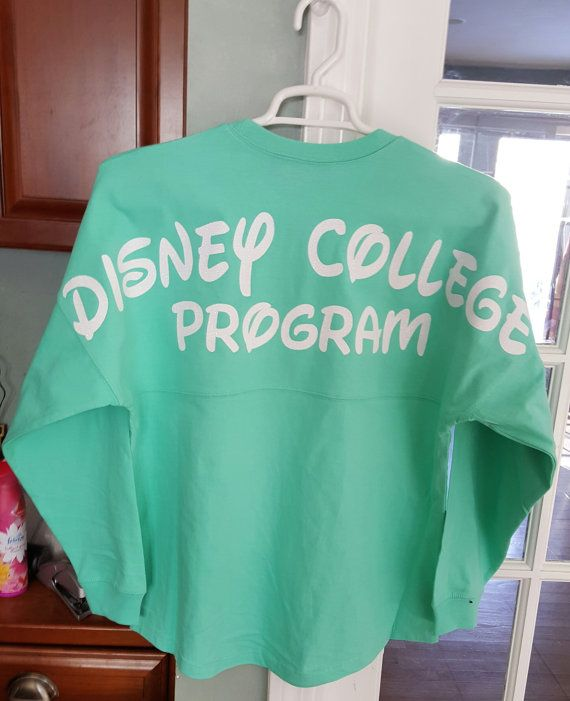Personalizable Customizeable Disney College Program Solid Colored Spirit Jersies - choose sizes and colors