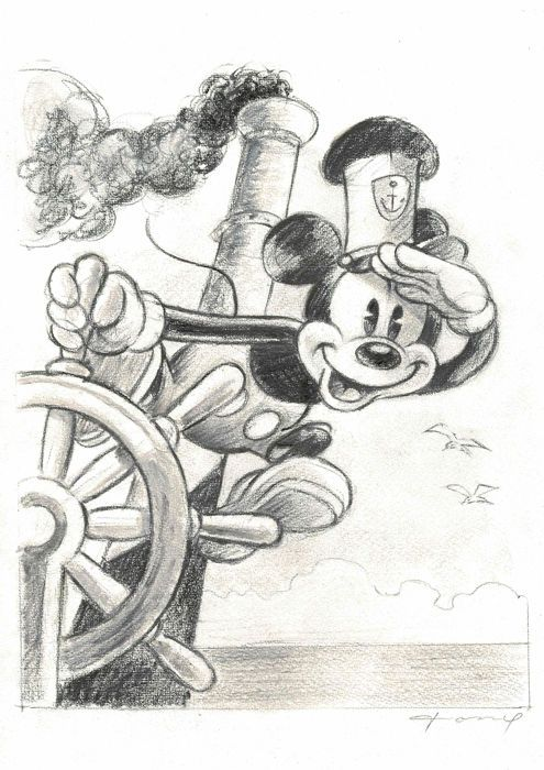 Fernandez, Tony – Original Drawing – Mickey Mouse …
