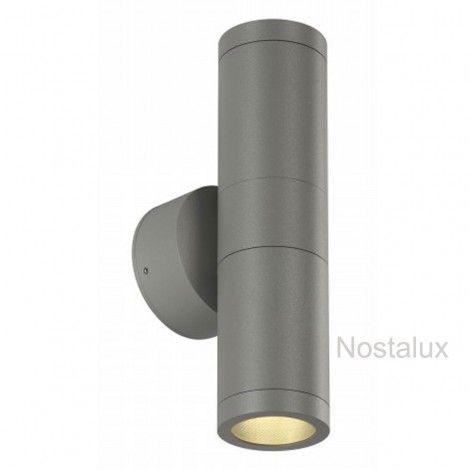 Mia out up&down zilvergrijs (1020228774M) - Nostalux Selectie - Wand verlichting modern