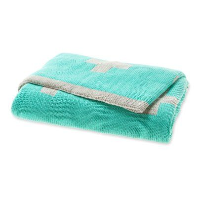 Mint Crosses Throw - Urban Couture