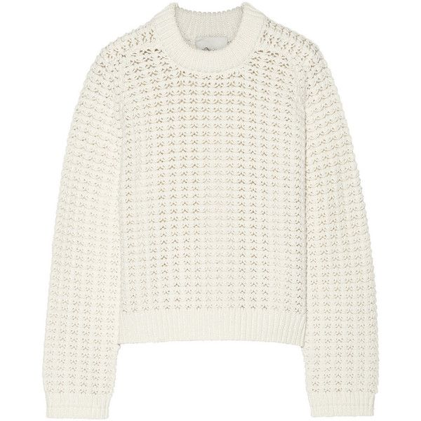 Pinterest'teki 25'den fazla en iyi White knit sweater fikri