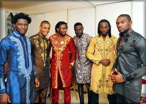 African Men.