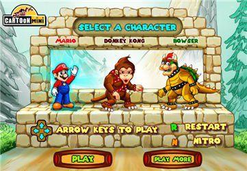Mario Truck War,Racing games,k7x.com,free online games