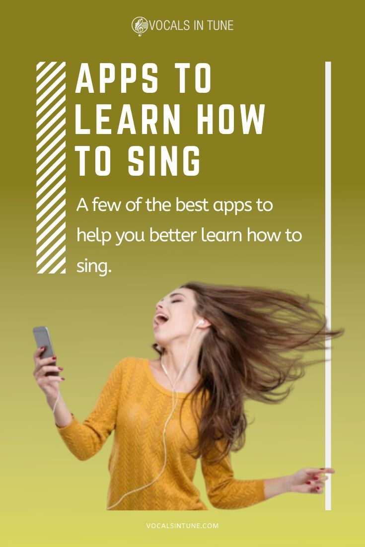 Apps To Learn How To Sing Vocals In Tune Learn Singing Singing Tips Vocal Lessons