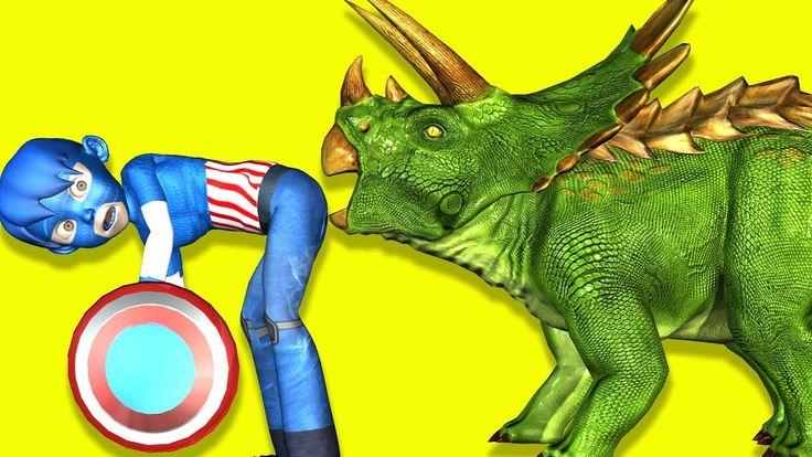 Captain America: Vs Monster Animals / Captain America Superheroes / Mons...