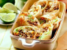 Mexicaanse wraps met guacamole-dip - Libelle Lekker!