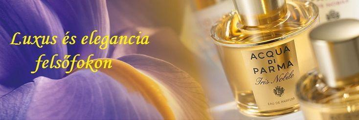 Acqua di Parma Iris Nobile női parfüm    Fényűző, kissé régimódi, érett és ultrafeminin illat