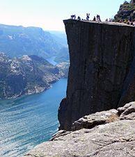 Preikestolen (Pulpit Rock) and the Lysefjord, Norway - Photo: Dieter Schaedel