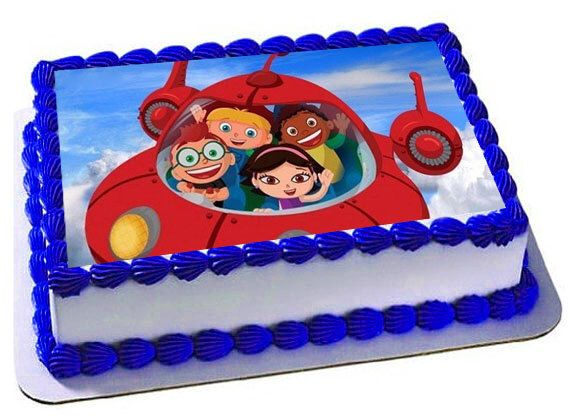 Little Einsteins Edible Cake Topper, Little Eisnteins Birthday Party, Frosting Sheet by Trendytreathouse on Etsy https://www.etsy.com/listing/264645650/little-einsteins-edible-cake-topper