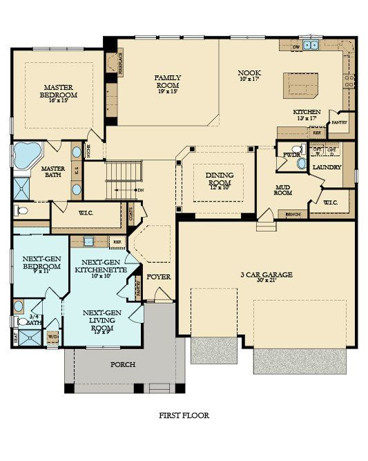 25 best ideas about multi family homes on pinterest Multi generational home plans