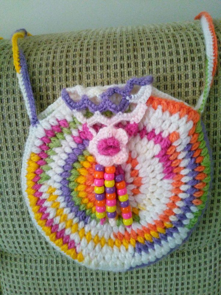 tığ işi çanta, crochet bag