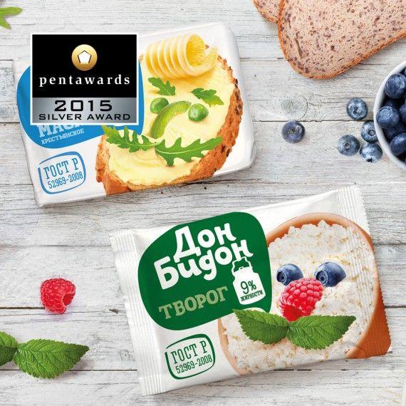 Silver Pentaward 2015 – Food – Getbrand
