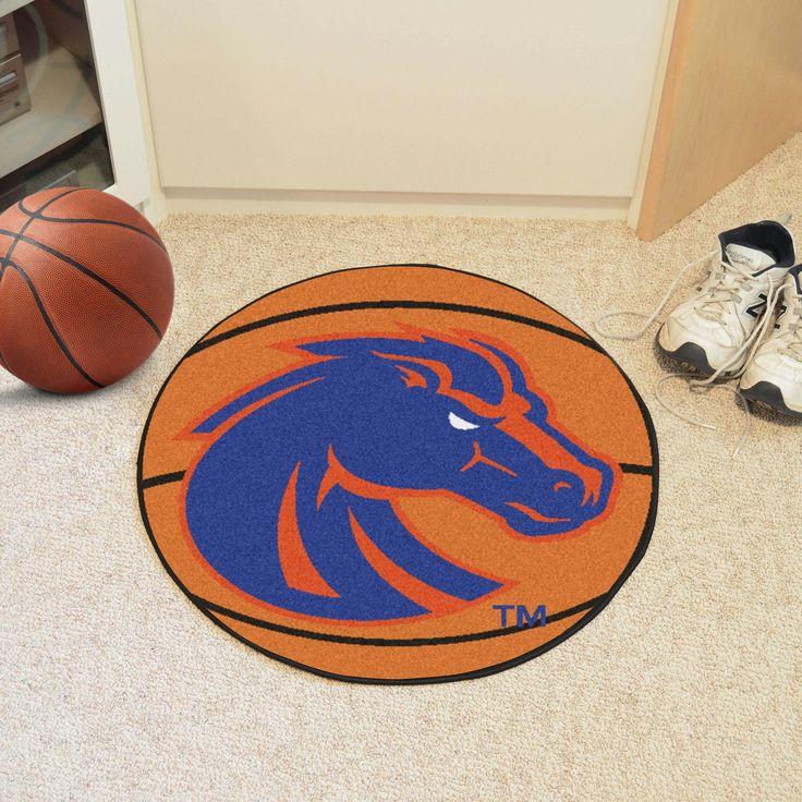 Boise State Basketball Mat 27 diameter