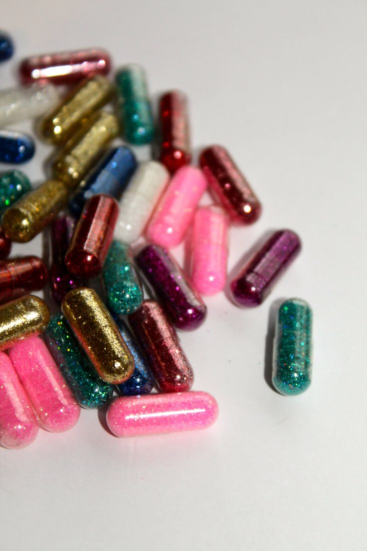 Glitter Pills 10 with each order by MeghoDesigns on Etsy, $5.00