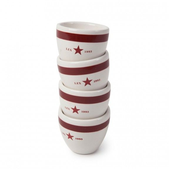 Lexington Mini Cup Set of 4 - Red  #cup #mug
