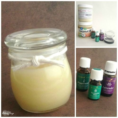 DIY All Natural Essential Oils Vapor Rub! Love this easy recipe for Fall and Winter!