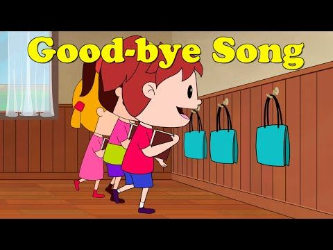 Good-bye Song | Kindergarten | Preschool | Classroom | ELF Learning