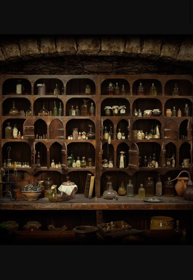 Witch's apothecary