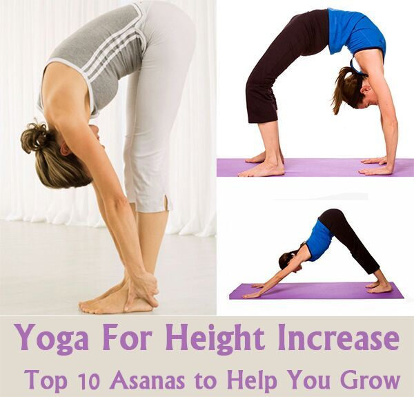 Human height depends on several factors like as genetic and non-genetic factors, including environmental factors and nutrition. Yoga helps to gain in height, despite these factors.