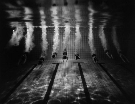 natation synchronisée / Tomasz Gudzowaty