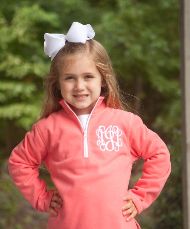 "Fall is in the air and this Southern Tots classic is perfect! Our girl's coral monogrammed fleece are perfect to wear over tops to keep your little warm cozy warm in the fall air. This is a must have basic piece for fall, back to school and the holidays. Available in a variety of colors for both girls and boys.  <a href=""http://www.southerntots.com/wp-content/uploads/PreOrderBanner-e1407511275792.jpg""><img class=""alignnone size-medium wp-image-11633"" alt=""Preorder Smocked Children's ..."