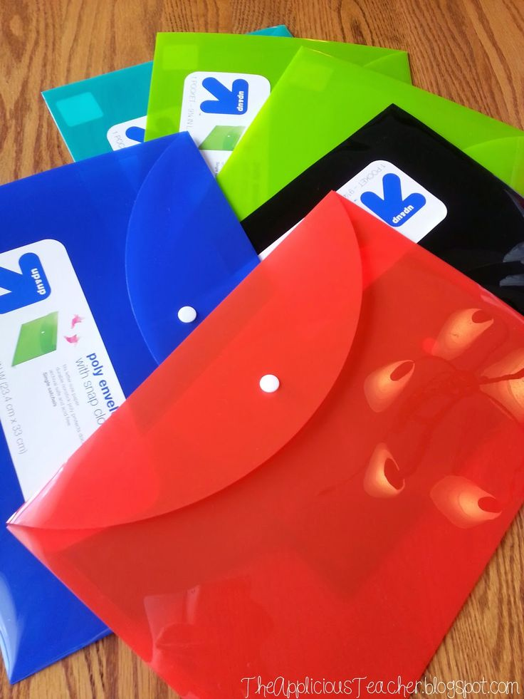 Use poly envelopes to transform your literacy centers!