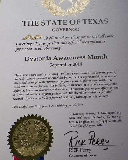 Best Dystonia Petition Images On   September Anxiety