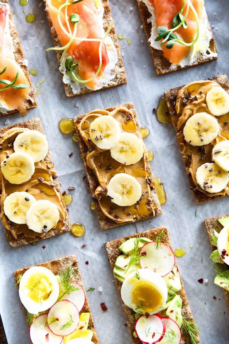 3 Delicious Wasa Cracker Breakfast Toasts