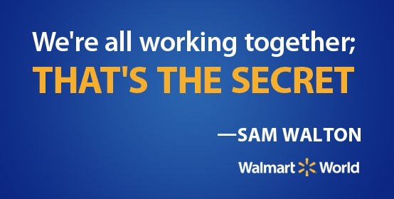 Sam Walton shares the secret to Walmart's success ...