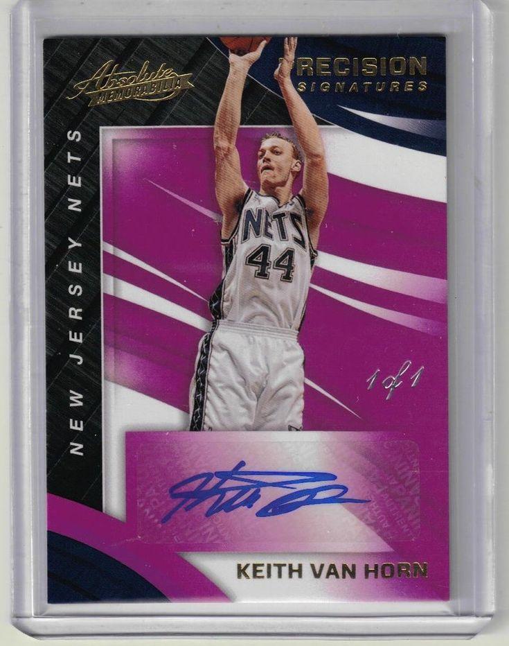 2017-18 Absolute Basketball Keith Van Horn True 1 of 1 Auto Purple Parallel RARE #NBABrooklynNewJerseyNets @BrooklynNets, @PaniniAmerica