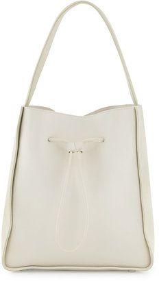 3.1 Phillip Lim Soleil Large Drawstring Bucket Bag, Off White http://www.1010parkplace.com/bags