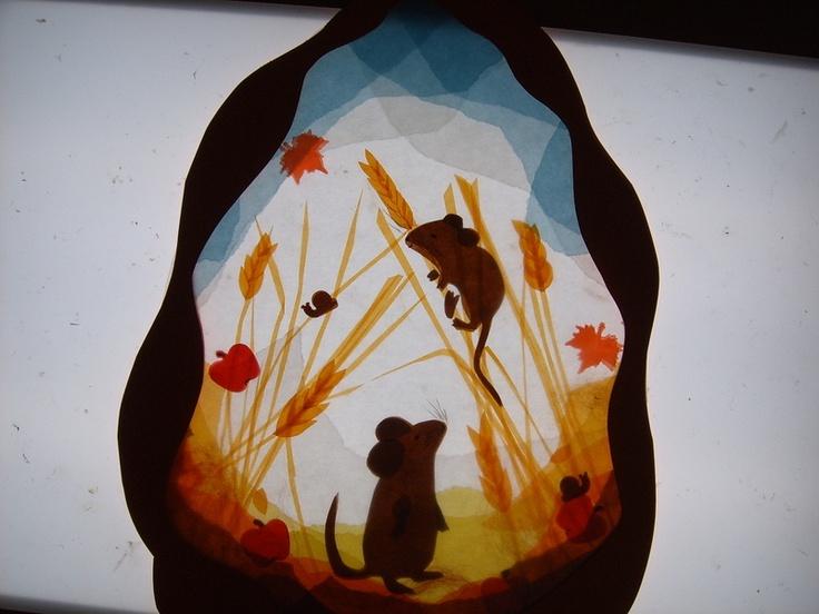 Mice/harvest transparency