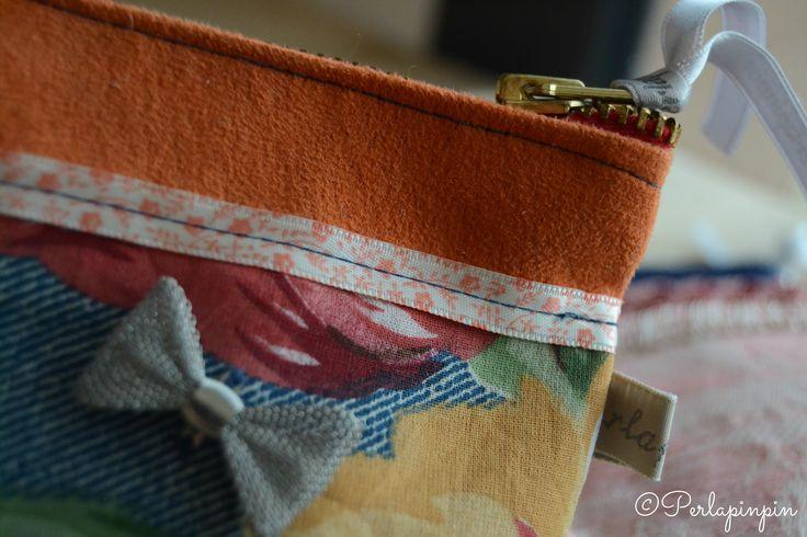 Et une autre pochette! Le petit noeud fait toute la différence...