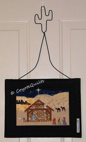 Small nativity wall hanging