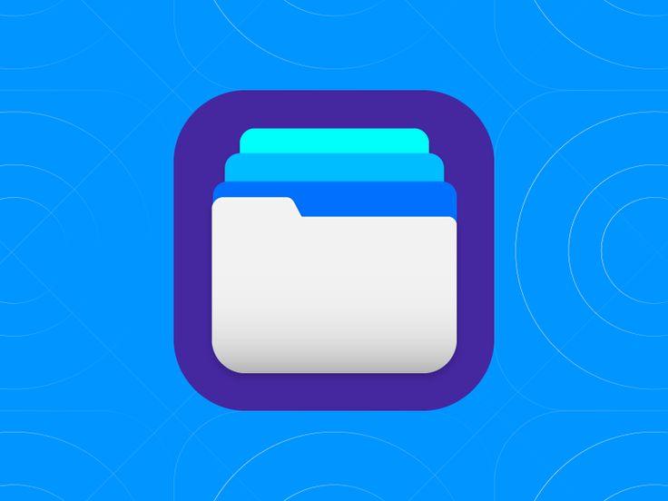Folder iOS app icon