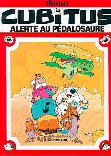 EO Cubitus 16 Alerte aux pédalosaures (état neuf)