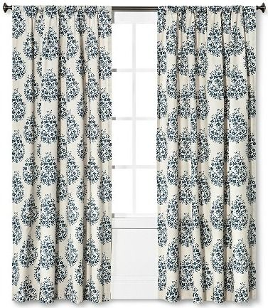 17 Best Ideas About Paisley Curtains On Pinterest
