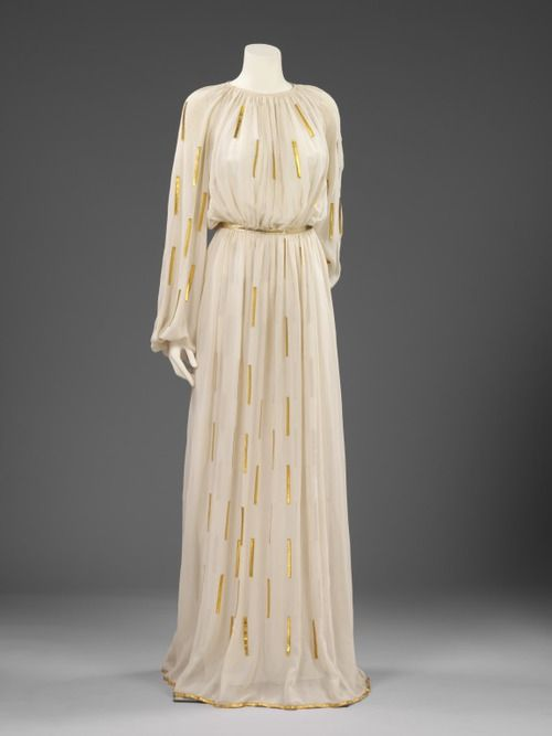 Evening Dress Jeanne Lanvin, 1935 The Victoria & Albert Museum