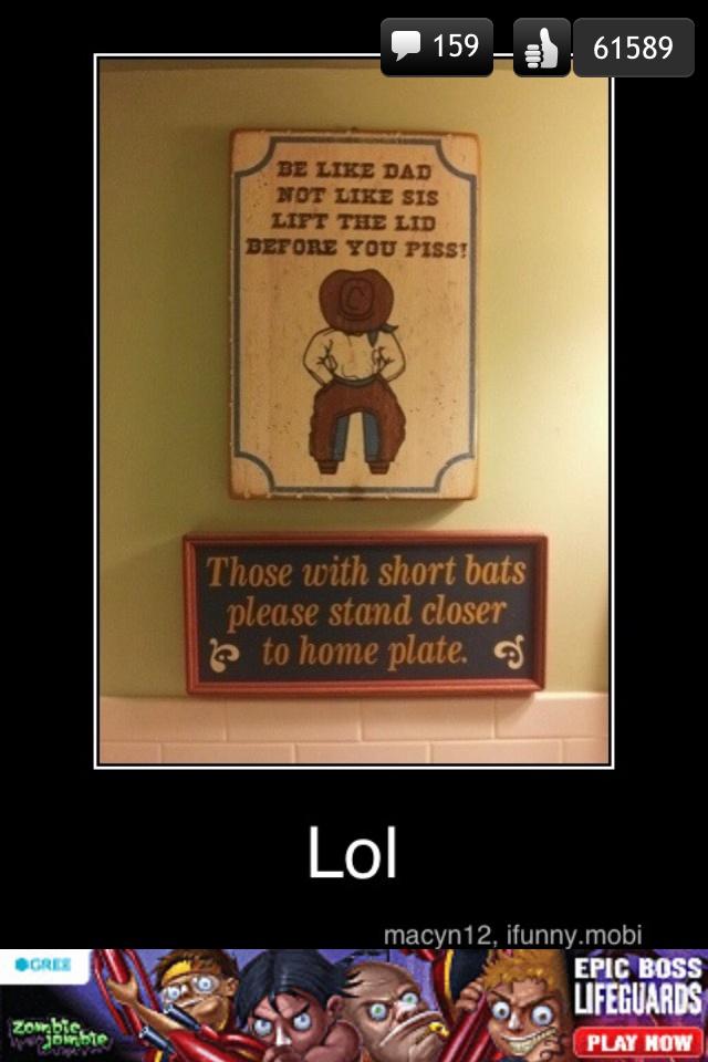 Bathroom Sign Game 10 best bathroom signs images on pinterest | bathroom ideas