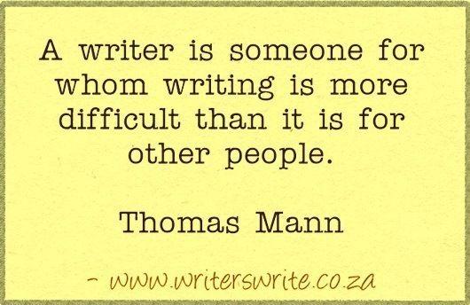 Quotable - Thomas Mann - Writers Write Creative Blog