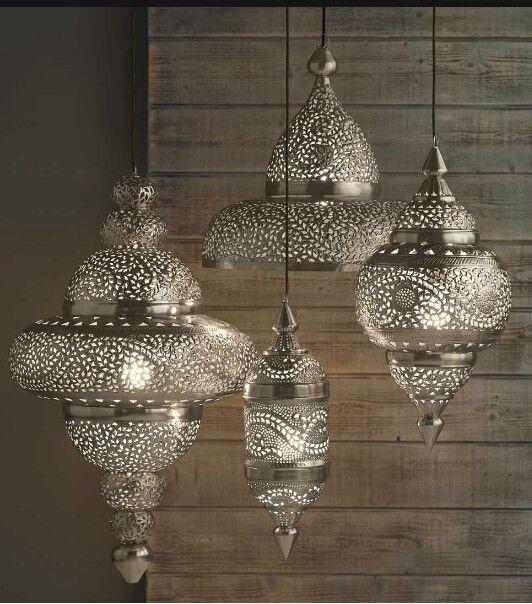 Moroccan lamps http://m.vivaterra.com/aHR0cDovL3d3dy52aXZhdGVycmEuY29tL3NpbHZlci1tb3JvY2Nhbi1oYW5naW5nLWxhbXAuaHRtbD8/YWRkVG9DYXJ0PXN1Y2Nlc3M%3D