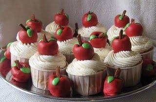 Teacher Appreciation CupcakesCake Recipe, Teachers Gift, Teacher Appreciation, Cupcakes Decor, Teachers Appreciation, Apples Cupcakes, Schools Cupcakes, Cupcakes Rosa-Choqu, Appreciation Cupcakes